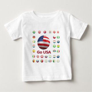 USA  World Cup 2010 South Africa Baby T-Shirt