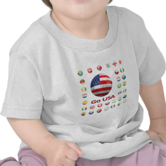 USA World Cup 2010 South Africa Tee Shirts