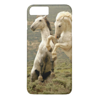 USA, Wyoming, Carbon County. Two wild iPhone 8 Plus/7 Plus Case