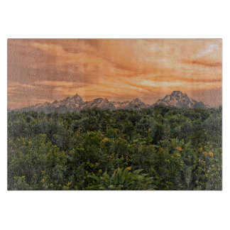 USA, Wyoming, Grand Teton National Park 1 Cutting Board