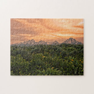 USA, Wyoming, Grand Teton National Park 1 Jigsaw Puzzle