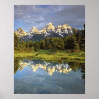 USA, Wyoming, Grand Teton National Park. Grand 2 Poster