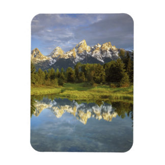 USA, Wyoming, Grand Teton National Park. Grand 2 Rectangular Photo Magnet