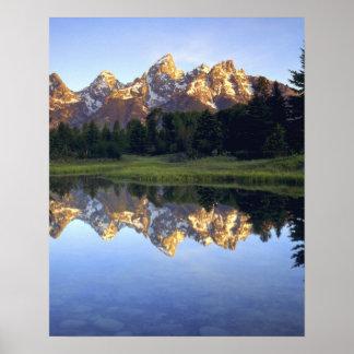 USA, Wyoming, Grand Teton National Park. Grand Poster
