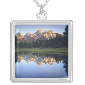 USA, Wyoming, Grand Teton National Park. Grand Silver Plated Necklace