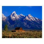 USA, Wyoming, Grand Teton National Park, Morning Poster