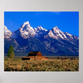 USA, Wyoming, Grand Teton National Park, Morning Poster