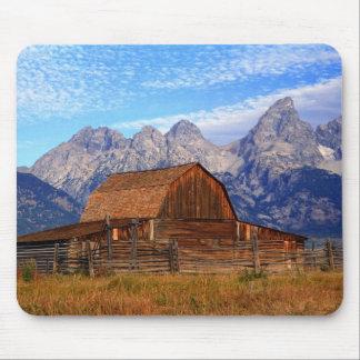 USA, Wyoming, Grand Teton National Park. Mouse Mat