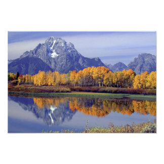 USA, Wyoming, Grand Teton National Park. Mt. Photo Print