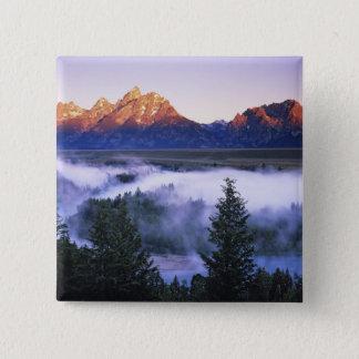USA, Wyoming, Grand Teton National Park. The 15 Cm Square Badge