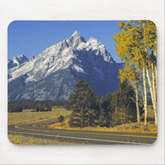 USA, Wyoming, Grand Teton NP. Teton Parkway Mouse Pad