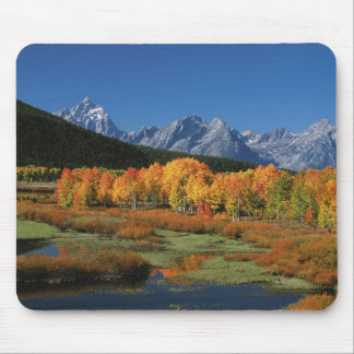 USA, Wyoming, Grand Tetons National Park in Mouse Mat