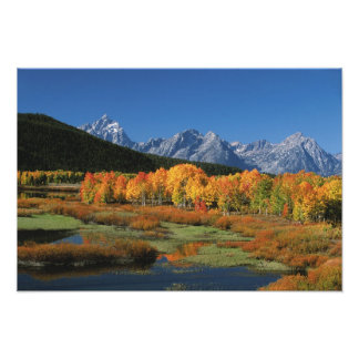 USA, Wyoming, Grand Tetons National Park in Photo Print