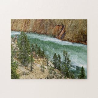 USA, Wyoming, Yellowstone National Park Jigsaw Puzzle