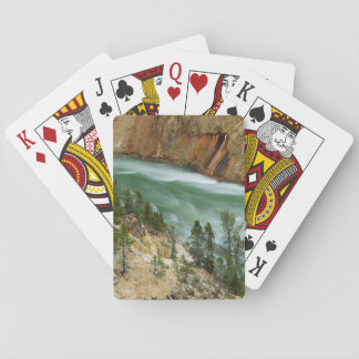 USA, Wyoming, Yellowstone National Park Playing Cards