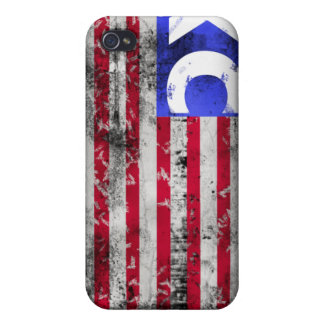 USA XC Cross Country iPhone 4 Case