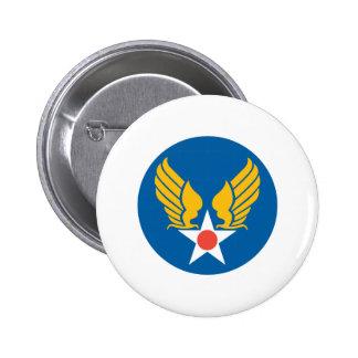 USAAF 6 CM ROUND BADGE