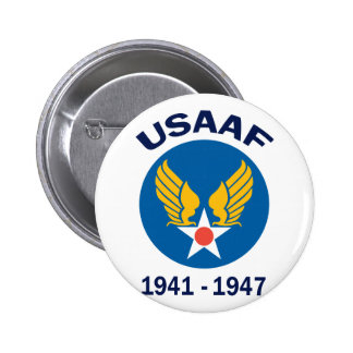 USAAF Years Active 6 Cm Round Badge
