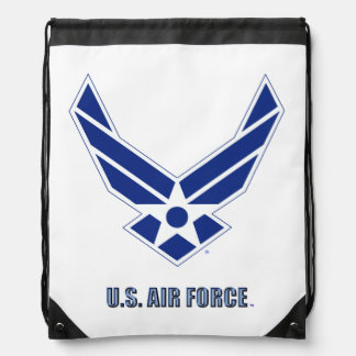USAF Drawstring Backpack