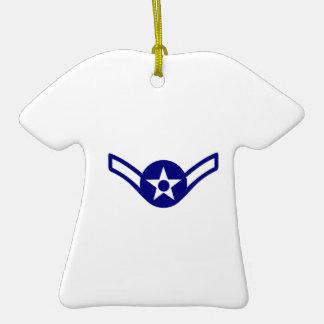 USAF E-2 AIRMAN CERAMIC T-Shirt DECORATION
