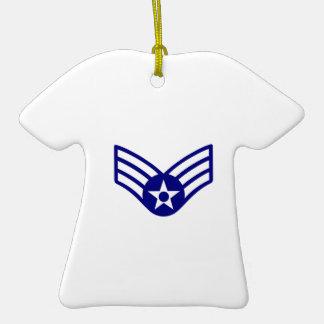 USAF E-4 SENIOR AIRMAN CERAMIC T-Shirt DECORATION