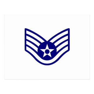 USAF E-5 STAFF SERGEANT POSTCARD