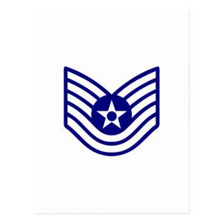 USAF E-6 TECH SERGEANT POSTCARD