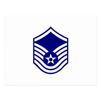 USAF E-7 MASTER SERGEANT POSTCARD
