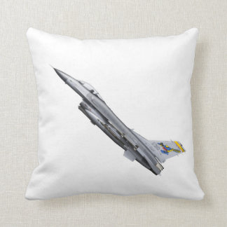 USAF F16 Jet Fighter Plane Pillow Cushion