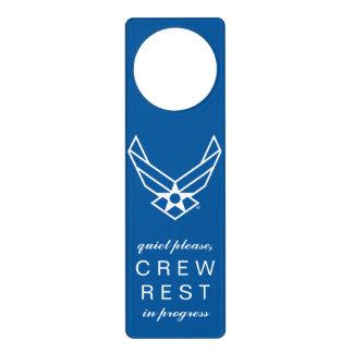 USAF Quiet Please Crew Rest Door Hanger