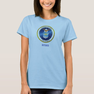 USAF Regtired Women's Tee Shirt
