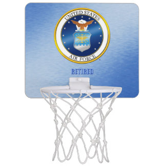 USAF Retired Basketball Hoop