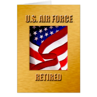 USAF Retired Card
