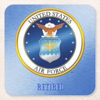 USAF Retired Coaster