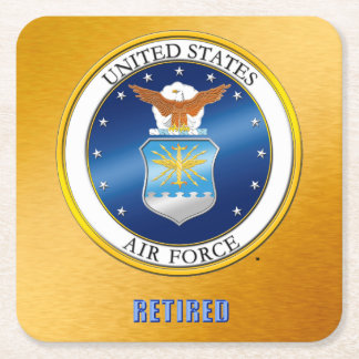 USAF Retired Coaster
