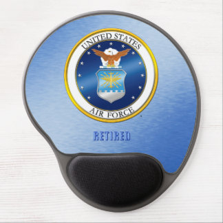 USAF Retired Gel Mousepad Gel Mouse Mat