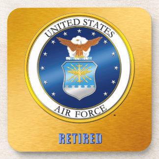 USAF Retired Hard plastic coaster