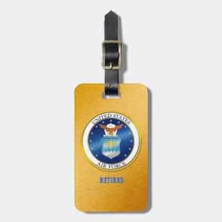 USAF Retired Luggage Tag