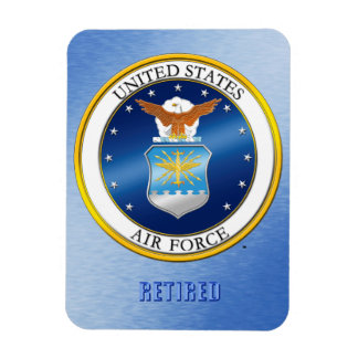 USAF Retired Magnet
