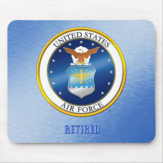 USAF Retired Mousepad