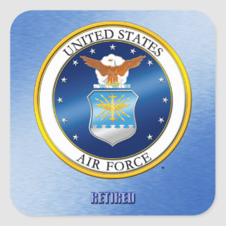 USAF Retired Sticker
