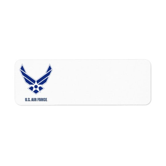 USAF Return Address Label