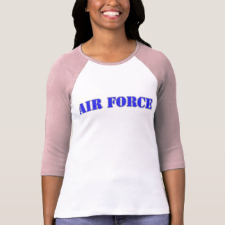 USAF Women's Bella 3/4 Sleeve Raglan T-Shirt