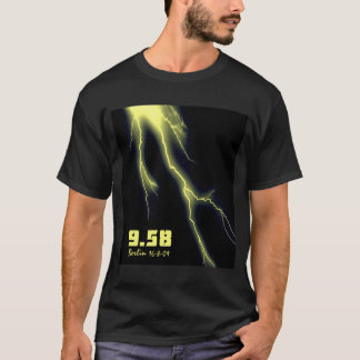 Usain Bolt 100m World Record T-Shirt