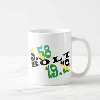 Usain Bolt Berlin 2 WR Jamaican Flag Coffee Mug