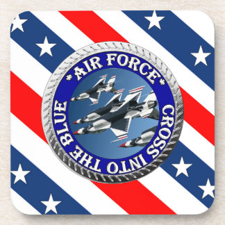 USAIRFORCEFANMERCH, Air Force Design Beverage Coasters