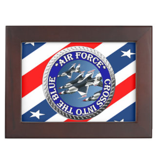 USAIRFORCEFANMERCH, Air Force Design Keepsake Box
