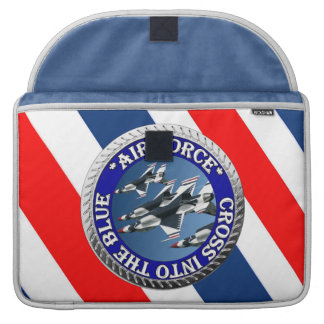 USAIRFORCEFANMERCH, Air Force Design Sleeve For MacBook Pro