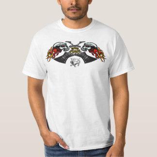 USAMG Skulls & Dragon Guitar Value T-Shirt