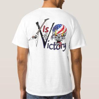USAMG V Guitar Value T-Shirt V Is For Victory!